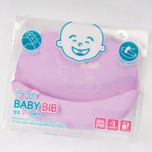 ซิลิโคนกันเปื้อน อังจู Ange Baby Bib