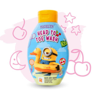 Minions Head To Toe (กลิ่น Happy Cherry 250 ml.)