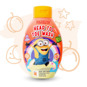 Minions Head To Toe (กลิ่น Freshy Peach 250 ml.)