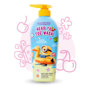 Minions Head To Toe (กลิ่น Happy Cherry 500 ml.) 1 แถม 1