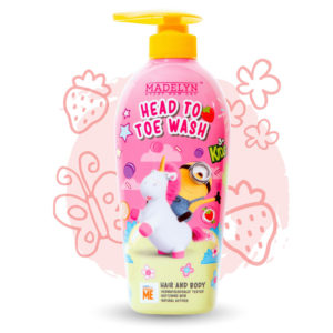 Minions Head To Toe (กลิ่น Lovely Strawberry 500 ml.) 1 แถม 1