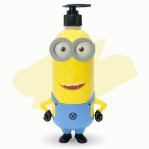 Limited Minions Bath and Shower (กลิ่น Strawberry 400ml.)